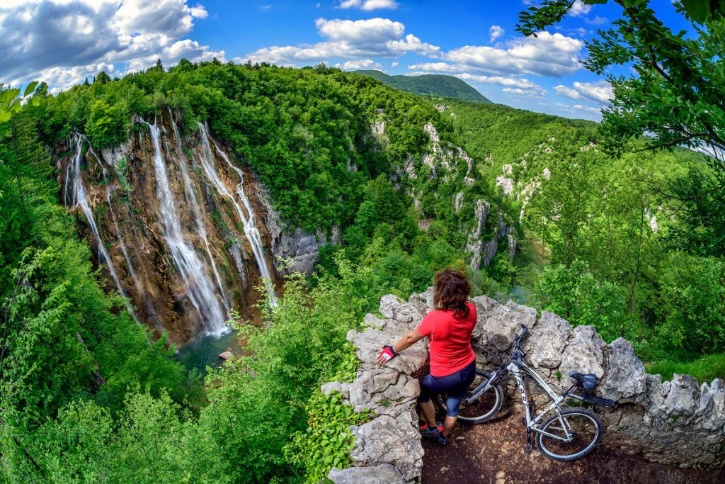 Plitvice-watervallen in Kroatie