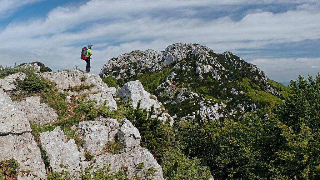 natuurpark Risnjak in Kroatie