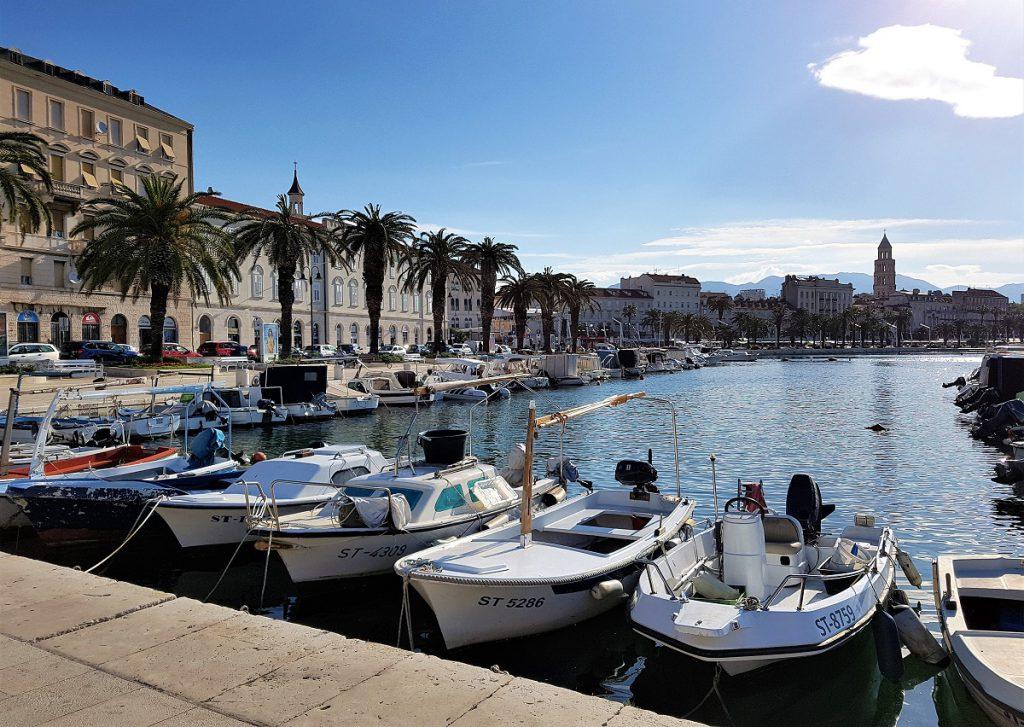 Riva de boulevard van Split