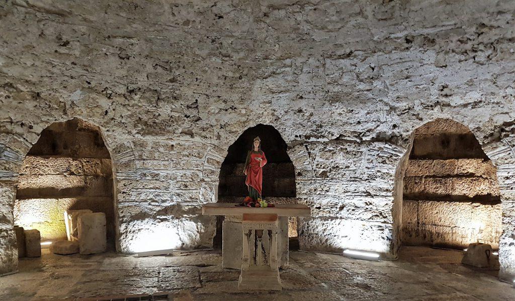 crypte van de kathedraal van split