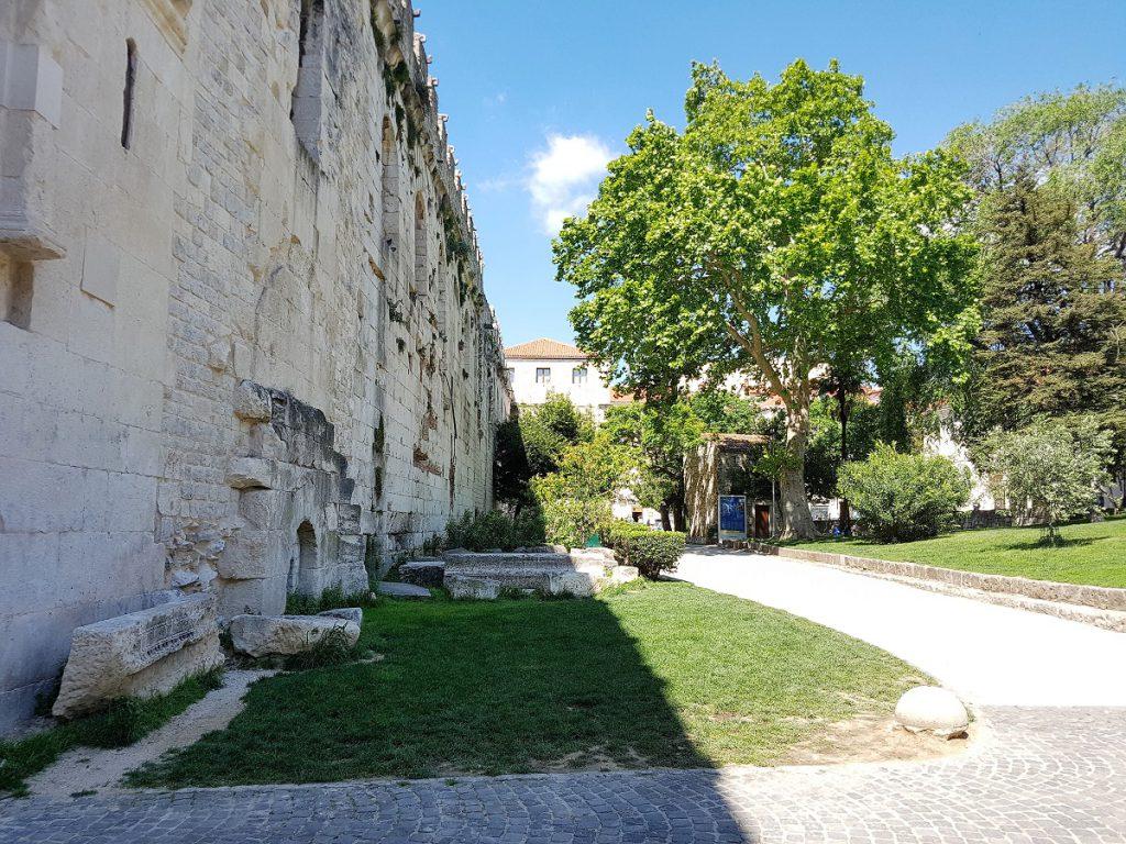 stadsmuur in split