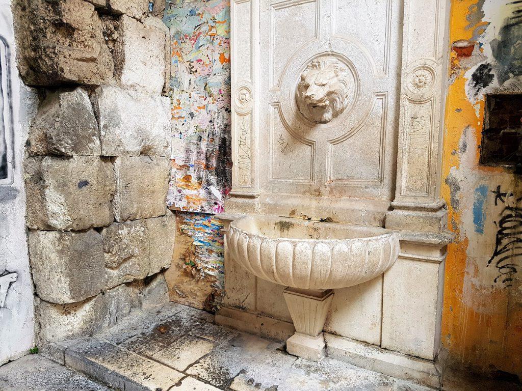 fontein in split