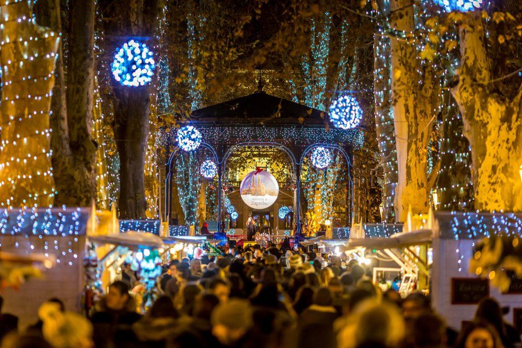 Kerst in Kroatie Zagreb