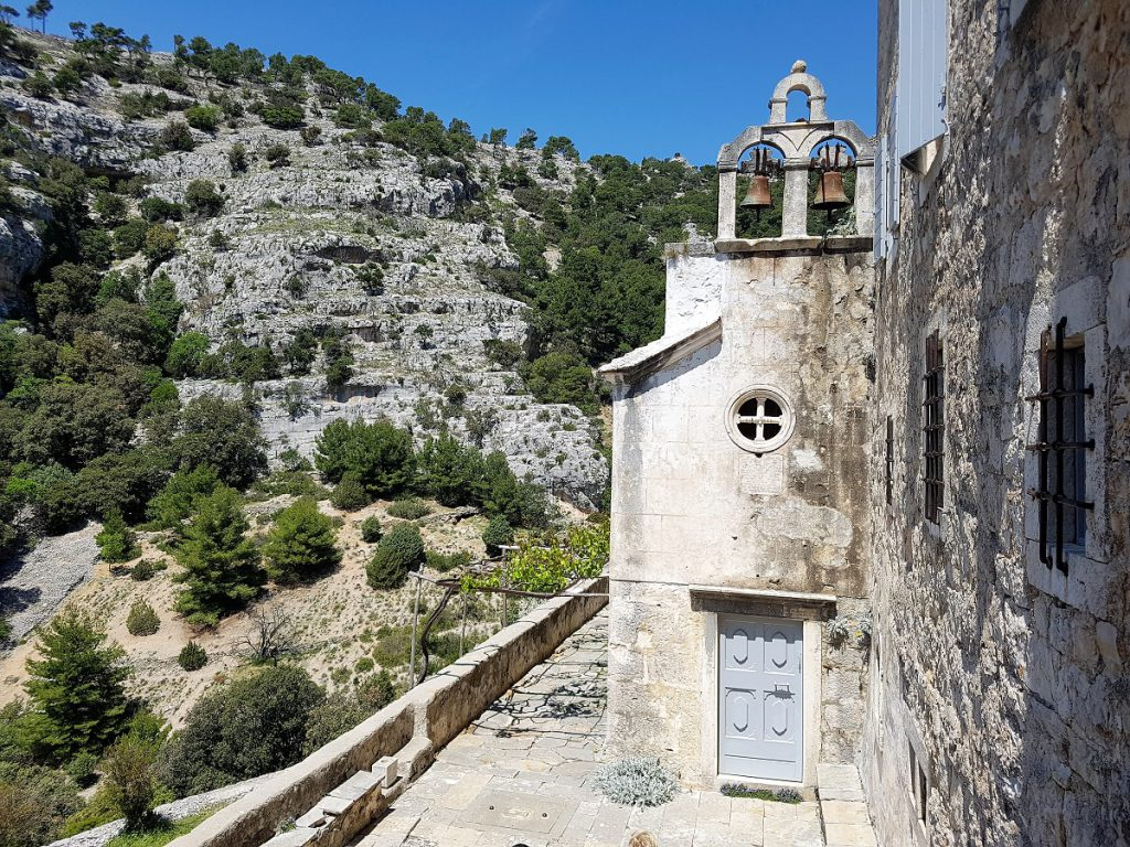 Klooster Blaca op het eiland Brac