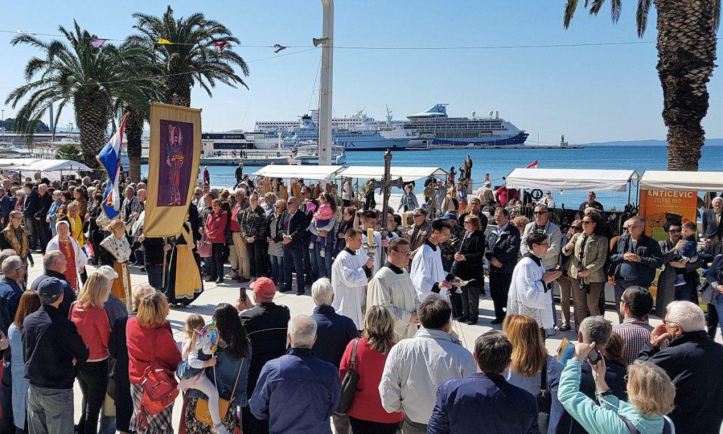processie in Split