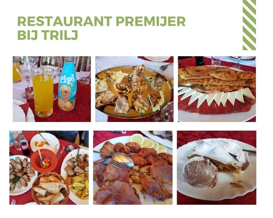 Restaurant bij Trilj in Kroatie
