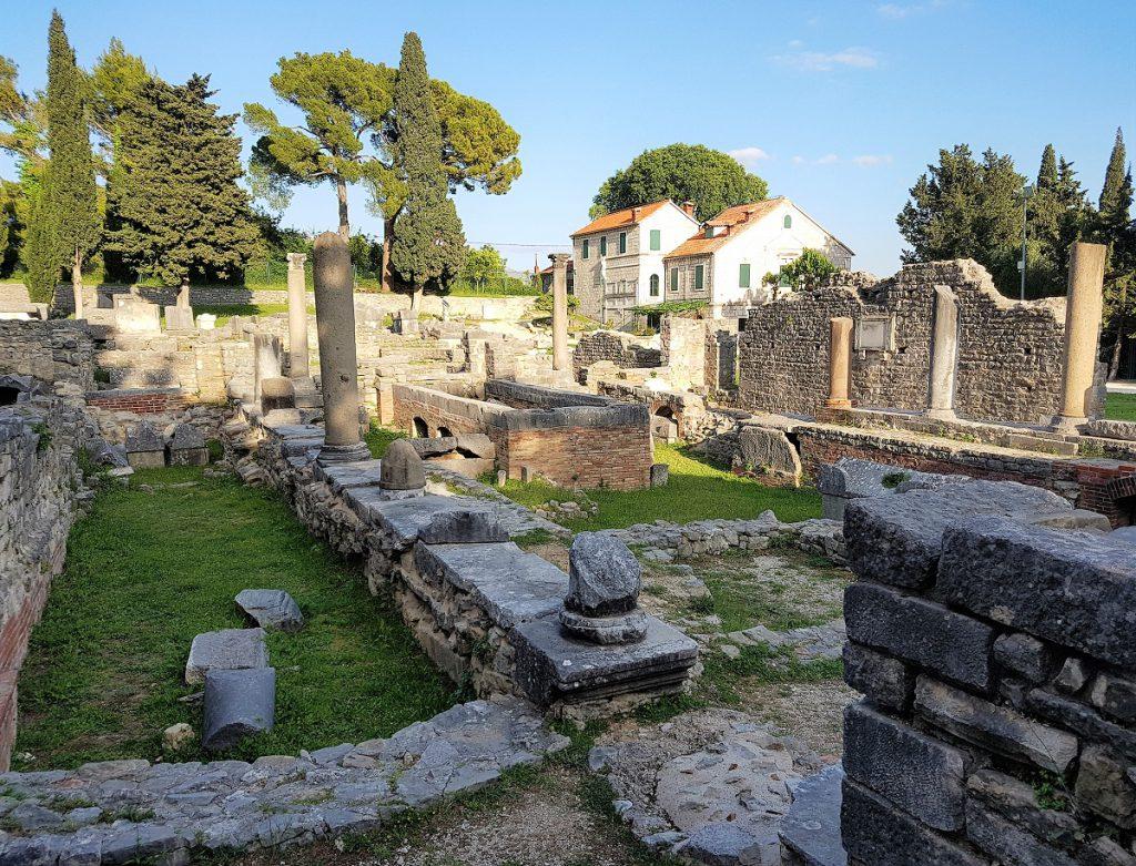 Salona bij Split Kroatie