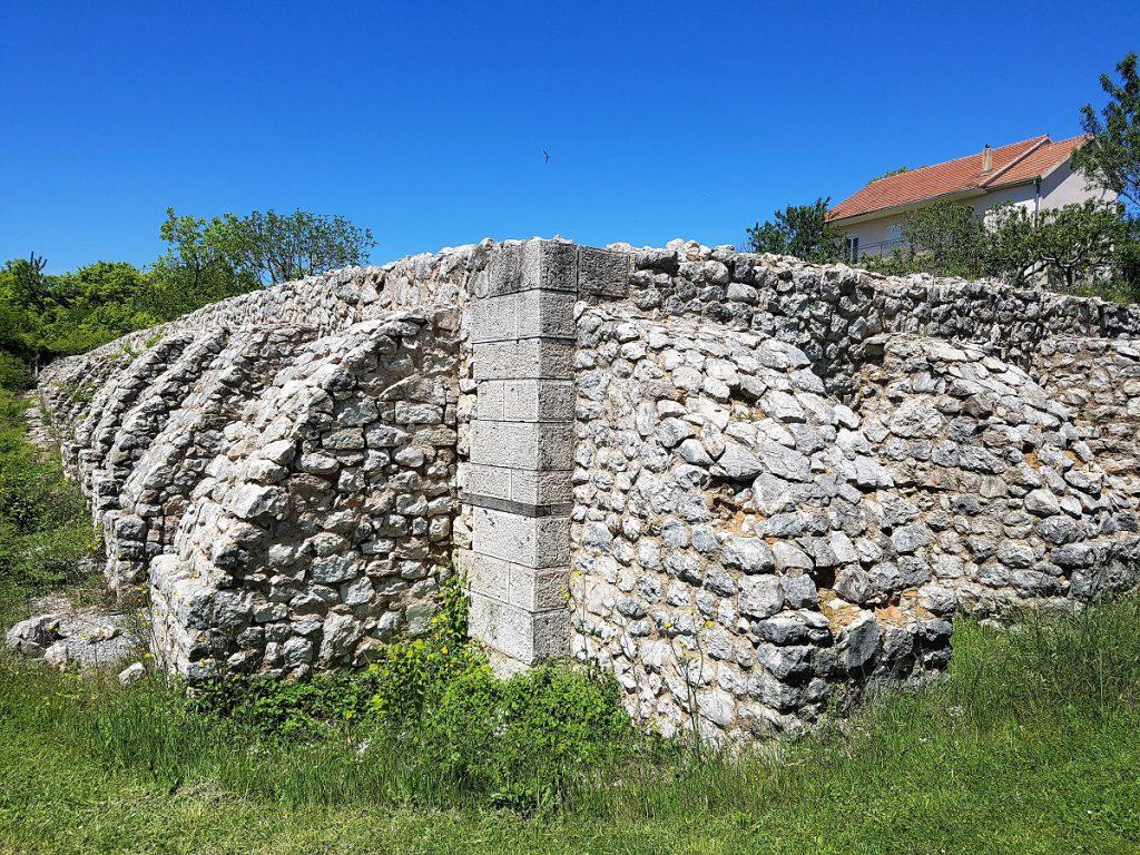 romeinse resten in Trilj bij Split