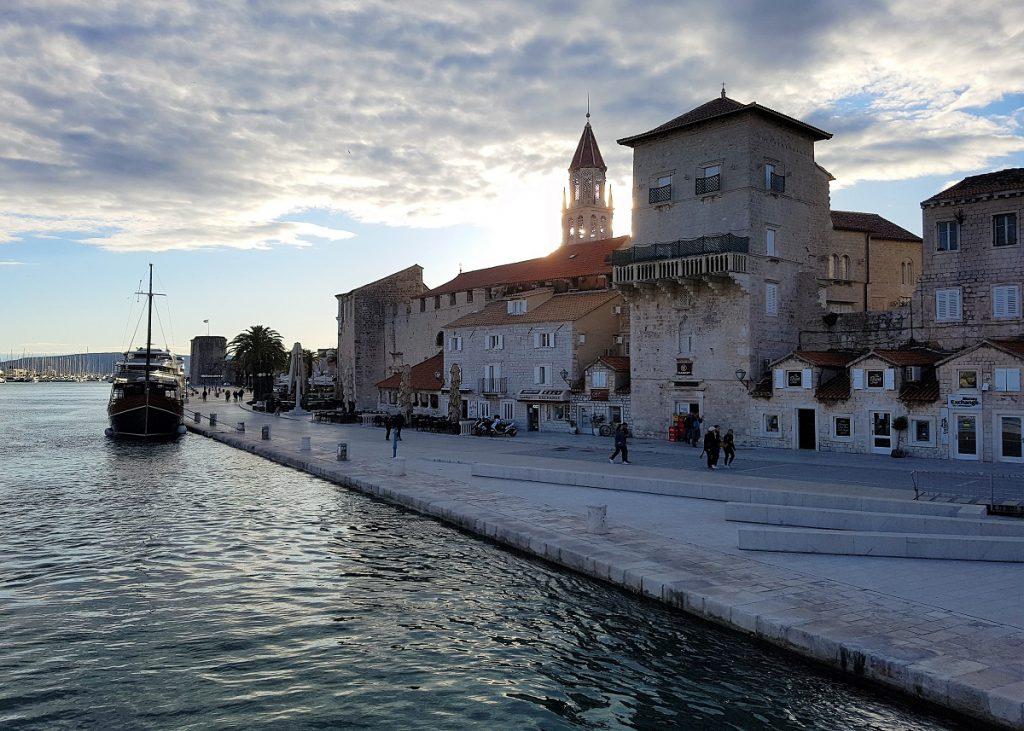 Trogir bij Split in Kroatie